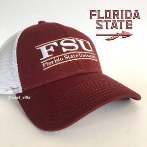 Florida State Seminole Mesh Snapback Trucker Hat